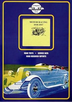 Picture of MOTOR RACING 1930/57