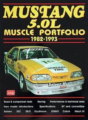 Picture of MUSTANG 5.OL 1982/93 MUSCLE PORTFOLIO