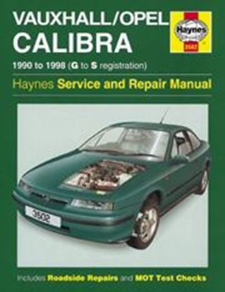 Picture of OPEL CALIBRA (VAUXHALL) 1990-98 N. 3502 OWNERS WORKSHOP MANUALS