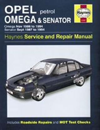 Picture of OPEL OMEGA 1986-94 N. 3157 OWNERS WORKSHOP MANUALS