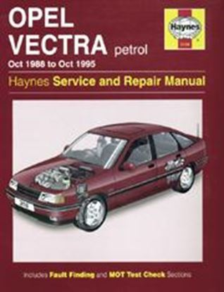 Picture of OPEL VECTRA 1988-95 N. 3158 OWNERS WORKSHOP MANUALS