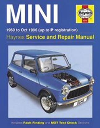 Immagine di MINI 1969-2001 N. 0646 OWNERS WORKSHOP MANUALS