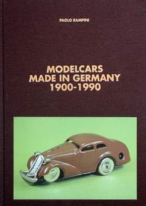 Immagine di MODELCARS MADE IN GERMANY 1900/1990
