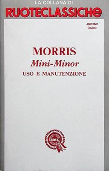 Picture of MORRIS MINI MINOR USO E MANUTENZIONE