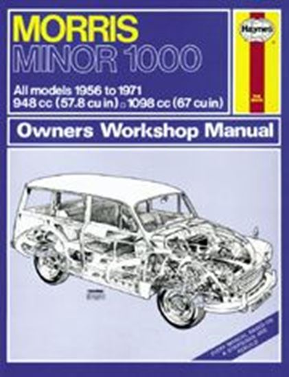 Picture of MORRIS MINOR 1000, 1956-71 N. 0024 OWNERS WORKSHOP MANUALS