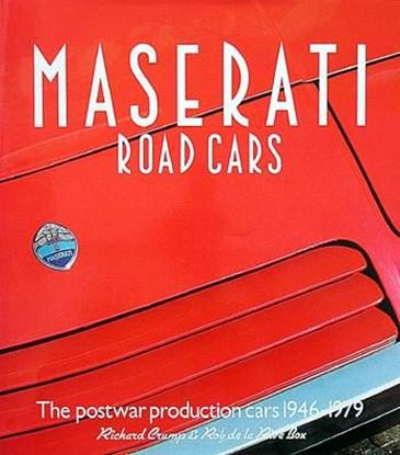 Picture of MASERATI ROAD CARS: THE POSTWAR PRODUCTION CARS 1946/79