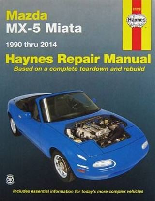 Picture of MAZDA MX-5 MIATA 1990-2014 ALL MODELS N. 61016 OWNERS WORKSHOP MANUALS