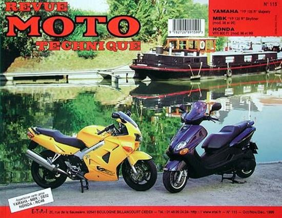 """Picture of MBK YP 125 R SKYLINER (98/99) N° 115 - SERIE """"REVUE MOTO TECHNIQUE"""""""