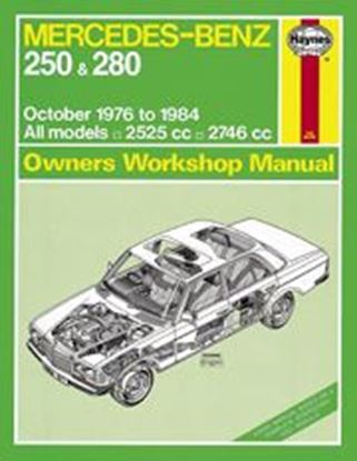 Immagine di MERCEDES-BENZ 250 & 280 W123 SERIES, 1976-84 N. 0677 OWNERS WORKSHOP MANUALS