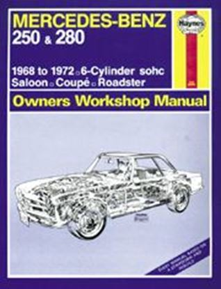 Immagine di MERCEDES-BENZ 250 & 280, 1968-72 N. 0346 OWNERS WORKSHOP MANUALS