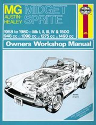 Immagine di MG MIDGET & AUSTIN HEALEY SPRITE, 1958-80 OWNER WORKSHOP MANUAL N. 0265