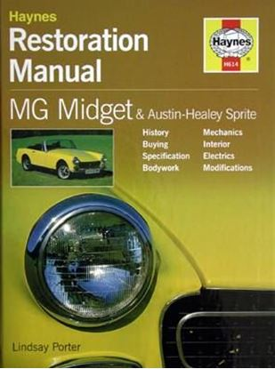 Picture of MG MIDGET & AUSTIN HEALEY SPRITE RESTORATION MANUAL H614