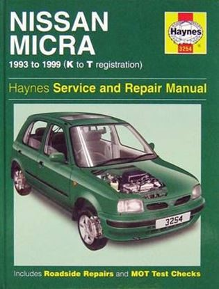 Picture of NISSAN MICRA 1993-99 (K to T registration) OWNERS WORKSHOP MANUALS N. 3254