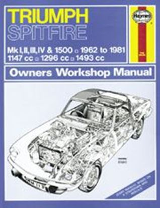 Picture of TRIUMPH SPITFIRE 1962-81 N. 0113 OWNERS WORKSHOP MANUALS