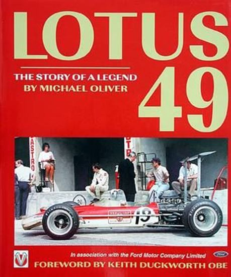 Picture of LOTUS 49: THE STORY OF A LEGEND
