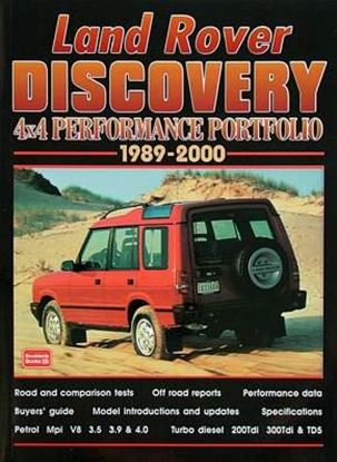 Picture of LAND ROVER DISCOVERY 4X4 PERFORMANCE PORTFOLIO 1989/2000