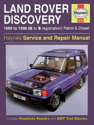 Picture of LAND ROVER DISCOVERY 1989 to 1998 (G to S registration) PETROL & DIESEL SERVICE AND REPAIR MANUAL N. 3016