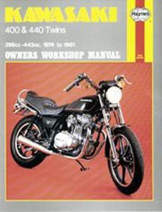 Picture of KAWASAKI 400/440 TWINS 1974-81 N. 0281 - OWNERS WORKSHOP MANUALS