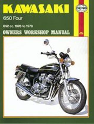 Picture of KAWASAKI 650 FOURS 1976-78 N. 0373 - OWNERS WORKSHOP MANUALS
