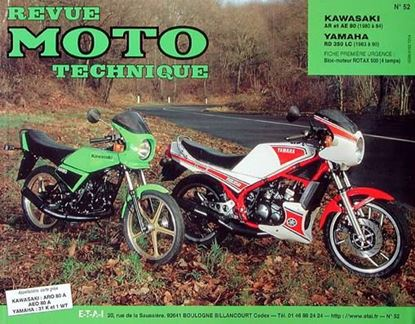 "Picture of KAWASAKI 80 AR ET AE N° 52 - SERIE ""REVUE MOTO TECHNIQUE"""