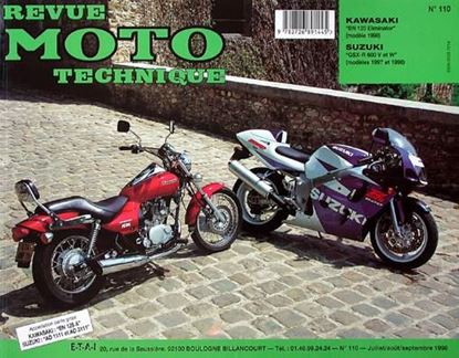 "Picture of KAWASAKI BN 125 ELIMINATOR (1998) N° 110 - SERIE ""REVUE MOTO TECHNIQUE"""