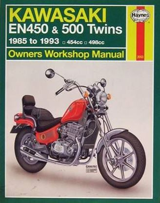 Picture of KAWASAKI EN450 & 500 TWINS 1985-93 454cc - 498cc N. 2053 - OWNERS WORKSHOP MANUALS