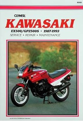 Immagine di KAWASAKI EX500 GPZ 500S 1987-93 - M360 - CLYMER REPAIR MANUALS