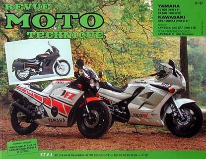 "Picture of KAWASAKI GPZ 1000RX GTR 1000 ET Z1000 (86/96) N° 67 - SERIE ""REVUE MOTO TECHNIQUE"""