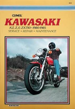Picture of KAWASAKI KZ, Z & ZX750 FOURS 1980-85 - M450 - CLYMER REPAIR MANUALS