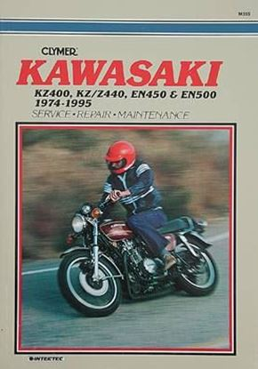 Picture of KAWASAKI KZ400, KZ-Z440, EN450 & EN500 TWINS 1974-95 - M355 - CLYMER REPAIR MANUALS