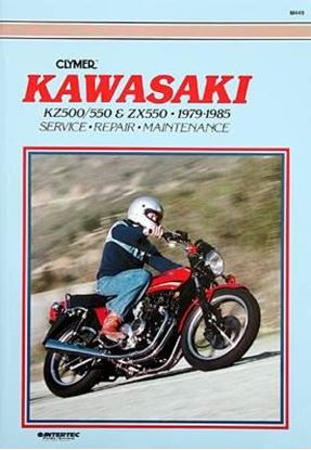Picture of KAWASAKI KZ500-550 & ZX550 FOURS 1979-85 - M449 - CLYMER REPAIR MANUALS
