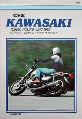 Picture of KAWASAKI KZ650 FOURS 1977-83 - M358 - CLYMER REPAIR MANUALS