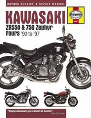 Immagine di KAWASAKI ZR550 & 750 ZEPHIR FOUR 1990-97 N. 3382 - OWNERS WORKSHOP MANUALS