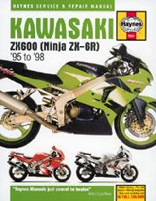 Immagine di KAWASAKI ZX600 NINJA ZX-6R 1995-98 N. 3541 - OWNERS WORKSHOP MANUALS