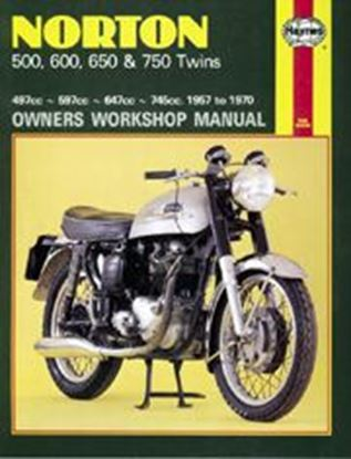 Picture of NORTON 500, 600, 650 & 750 TWINS 1957-70 N. 0187 - OWNERS WORKSHOP MANUALS