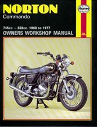 Picture of NORTON COMMANDO 1968-77 N. 0125 - OWNERS WORKSHOP MANUALS