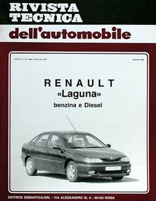 Picture of RENAULT LAGUNA, 1995 N. 83 SERIE «RIVISTA TECNICA DELL'AUTOMOBILE»