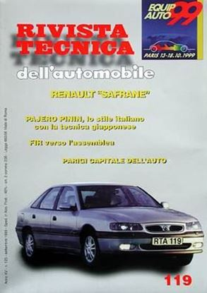 Picture of RENAULT SAFRANE N. 119 SERIE «RIVISTA TECNICA DELL'AUTOMOBILE»