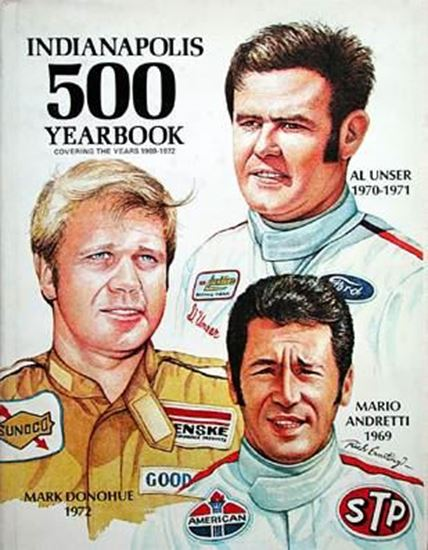 Immagine di INDIANAPOLIS 500 YEARBOOK 1969/72
