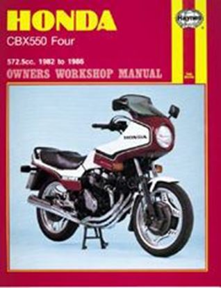 Picture of HONDA CBX550 FOUR 1982-86 N. 0940 - OWNERS WORKSHOP MANUALS