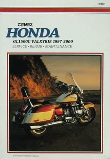 Picture of HONDA GL1500C VALKYRIE 1997-2000 CLYMER REPAIR MANUALS M462
