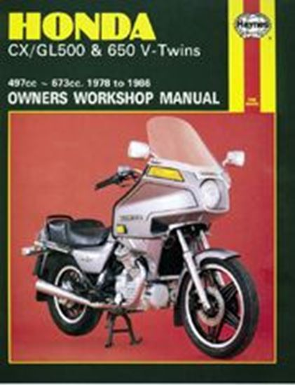 Picture of HONDA CX/GL500 & 650 V-TWINS 1978-86 N. 0442 - OWNERS WORKSHOP MANUALS