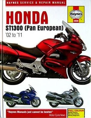 Immagine di HONDA ST1300 (PAN EUROPEAN) 2002/2011 N. 4908 - OWNERS WORKSHOP MANUALS