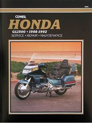 Picture of HONDA GL1500 GOLD WING 1988-92 - M505 - CLYMER REPAIR MANUALS