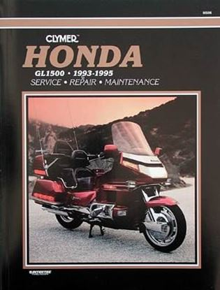 Immagine di HONDA GL1500 GOLD WING 1993-95 - M506 - CLYMER REPAIR MANUALS