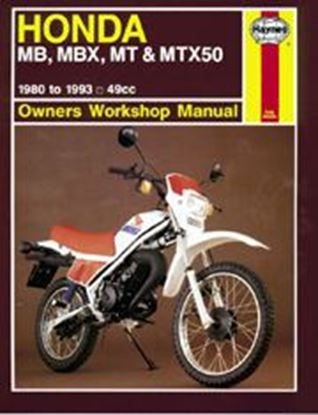Picture of HONDA MB, MBX, MT, MTX50 1980-93 N. 0731 - OWNERS WORKSHOP MANUALS