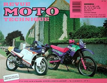 "Picture of HONDA NS125R ET MTX 125 R NJR, HRC, RALLYE, BEACH HUNTER(87/89) N° 74 - SERIE ""REVUE MOTO TECHNIQUE"""
