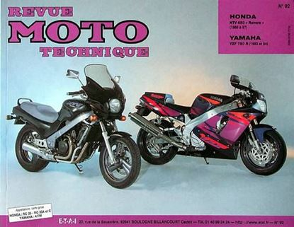 "Picture of HONDA NTV 650 REVERE (88/94) N° 92 - SERIE ""REVUE MOTO TECHNIQUE"""