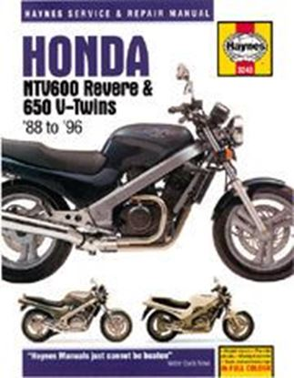 Picture of HONDA NTV600 REVERE & 650 V-TWINS 1988-96 N. 3243 - OWNERS WORKSHOP MANUALS