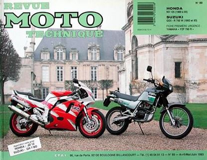 "Picture of HONDA NX 125 (89/93) N° 89 - SERIE ""REVUE MOTO TECHNIQUE"""